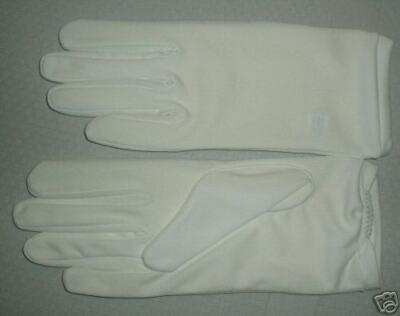 "Pair of White Nylon Ladies ""Parade"" Gloves!"