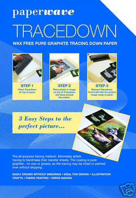 Tracedown - 5 x A3 Sheets - White