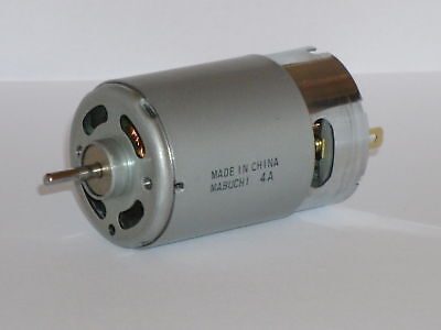 ** New Mabuchi Rs 555 Ph High Torque Motor / Generator 12V **
