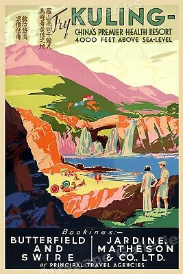 For Travel to Egypt Vintage Style Travel Poster Philp /& Co 1930s Burns 20x30