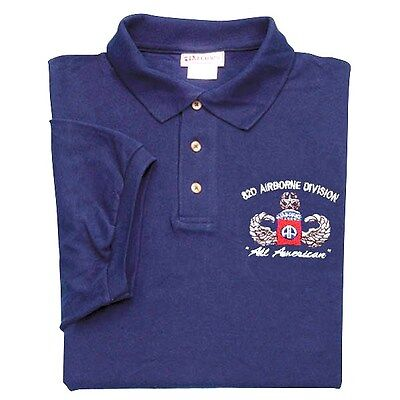 "82Nd Airborne Division ""All American"" Polo Shirt"