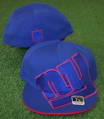 New York Giants hat  NFL  Reebok  Fitted   7  3/8