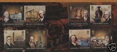 GB STAMPS Set   2009 Industrial Pioneers    MNH Mar 09