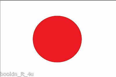 ***japan Japanese Vinyl Flag Decal / Sticker***