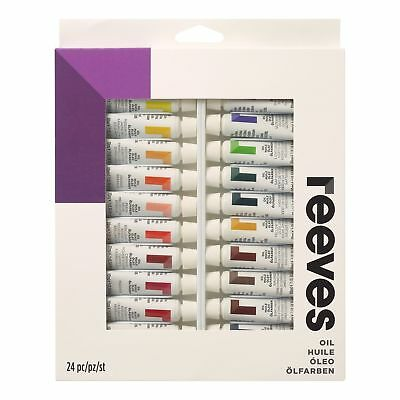 Reeves Oil Colours - 24 x 10 ml Tube Set