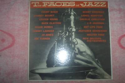 Vinyl-LP - The Faces of Jazz - J-1248