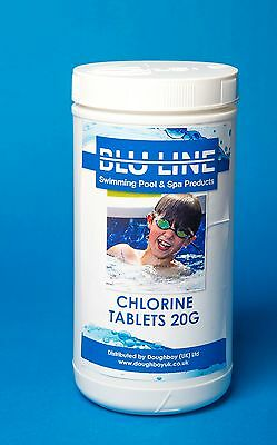 swimming pool multi functional chlorine tablets 1kg with dispenser