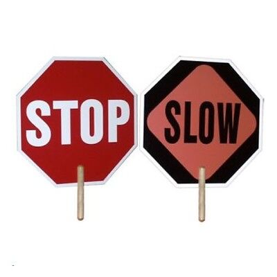 Stop/Slow Sign Hand Held, New 14344