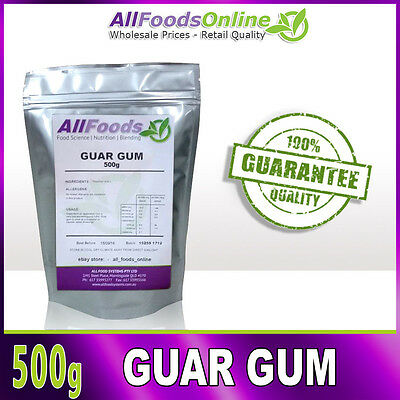 Guar Gum - Food Stabilizer - Thickener - Catering - 500g