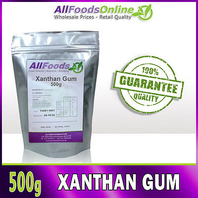 Xanthan Gum - Food Stabilizer - Thickener - Catering - 500g