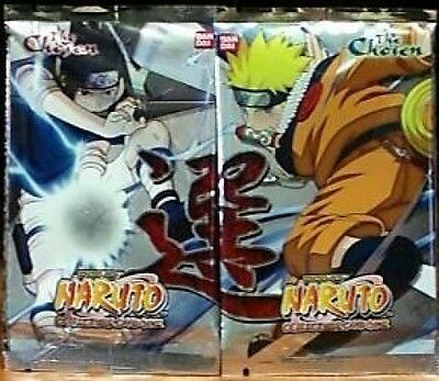 Naruto CCG The Chosen Booster Pack Lot X 12 MINT