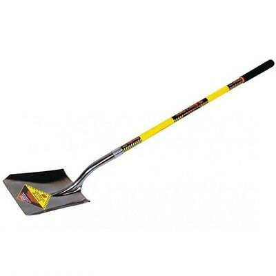"""Shovel,46.5/"""" Handle SEYMOUR MIDWEST STRUCTRON 49172 Forged Square pt"""