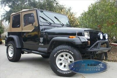 Spice Replacement Soft Top 88-95 Jeep Wrangler + Free Grab Handles