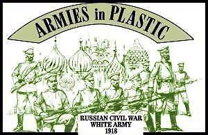 Armies in plastic 5482 Russian Civil War - White Army