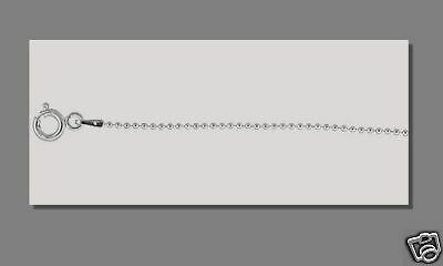 """10 pcs 20"""" Sterling Silver 1.2mm BALL BEAD CHAINS .925"""