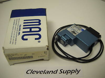 Mac  130B-591Aa Pneumatic Solenoid Valve 24Vdc New Condition In Box