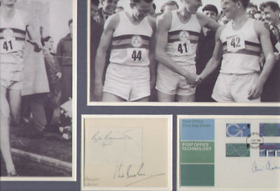 Roger Bannister (The Four Minute Mile) Signed Autographs