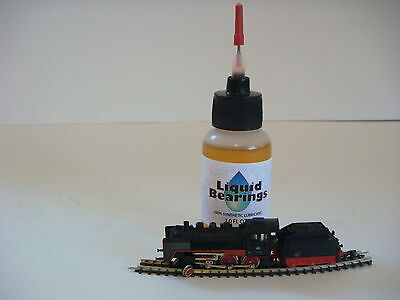Liquid Bearings, ABSOLUTE BEST 100%-synthetic train oil for Micro-Trains MTL !!