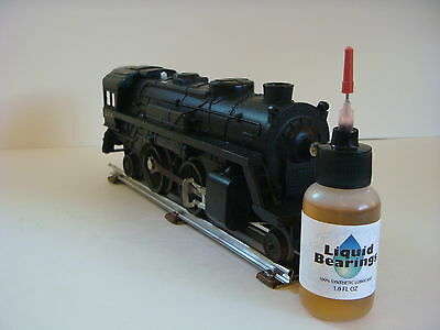 Liquid Bearings, BEST 100%-synthetic train oil for K-Line and all RR, READ THIS