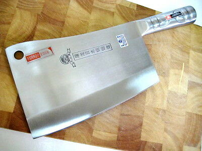 Quality Heavy Alloy Kitchen Chopper marked Japanese steel, Fast Shipping & Track