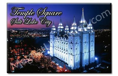 Temple Square Salt Lake City - Utah Souvenir Magnet #1