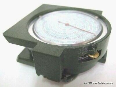 Quality Metal Map Measuring Compass - military old model