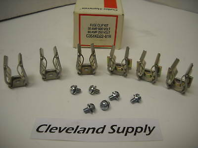 Cutler Hammer C351Kd22-61R Fuse Clip Kit 30A 600V New Condition In Box