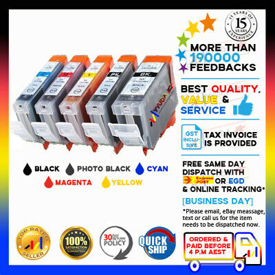 PRINT INK CARTRIDGE CLI-8 w CHIP for CANON MX850 MP610