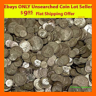 Absolutely The Best Coin Lot Estate Deal On Ebay! ✯✯ Unsearched Silver Coins! ✯✯