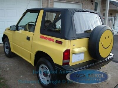 88-94 Suzuki Sidekick Geo Tracker Vitara Replacement Soft Top Black