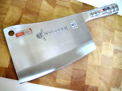 Quality Heavy Alloy Steel Kitchen Chopper - marked Japanese steel