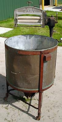 #SLS1H77 Syracuse Copper Antique Ringer Washer Model M Pat 1912