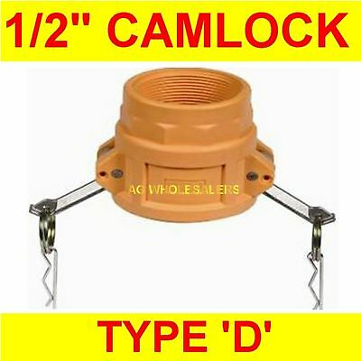 "Camlock Nylon Type D 1/2"" Cam Lock Irrigation Fitting"