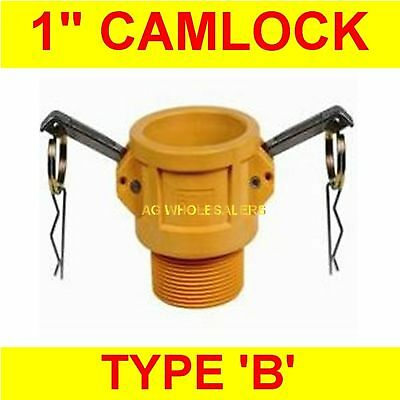"Camlock Nylon Type B 1"" Cam Lock Irrigation Fitting"
