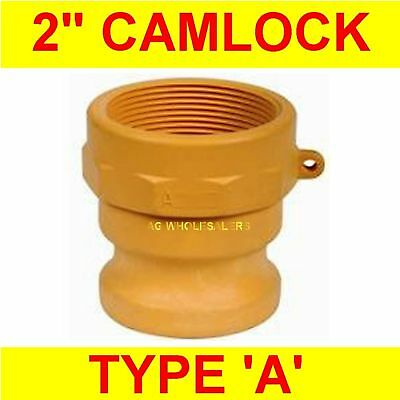 "Camlock Nylon Type A 2"" Cam Lock Irrigation Fitting"