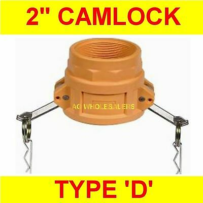 "Camlock Nylon Type D 2"" Cam Lock Irrigation Fitting"