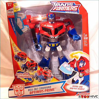 Transformers Animated Autobot leader Optimus Prime Supreme Class