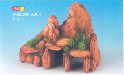 "Classic Arizona Rock 9.5"" Ornament For Aquarium"