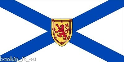 ***Nova Scotia Canada Vinyl Flag Decal Sticker***