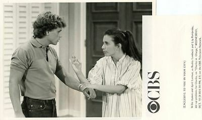 Willie Aames April Lerman Charles In Charge Cbs Photo