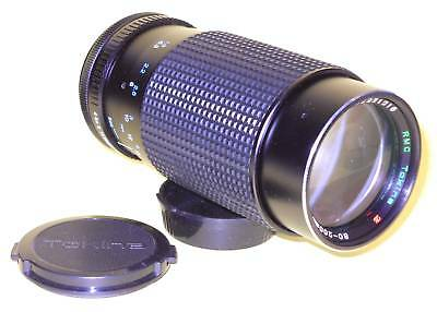 RMC Tokina 80-200mm 1:4 zoom - MINT condition for Canon