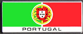 New Plastic Flag Bars - Portugal