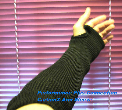 Flame Retardant Safety CarbonX® Protection Sleeves Pair - Made In USA