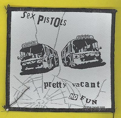 Sex Pistols 1994 original embroidered cloth patch