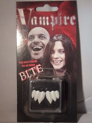 PROFESSIONAL VAMPIRE DELUXE TEETH fake novelty false