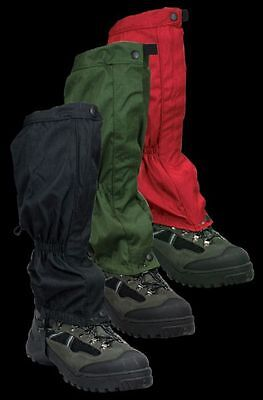 WATERPROOF WALKING GAITERS gators hiking climbing