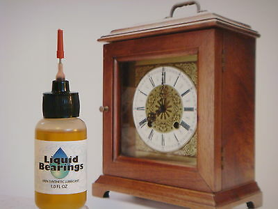 THE BEST synthetic oil for vintage clocks, PLEASE READ!