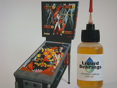 Liquid Bearings, BEST 100%-synthetic oil for Bally pinball, PLEASE READ!!