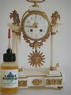 SUPERIOR synthetic oil for Mantel clocks, PLEASE READ!!