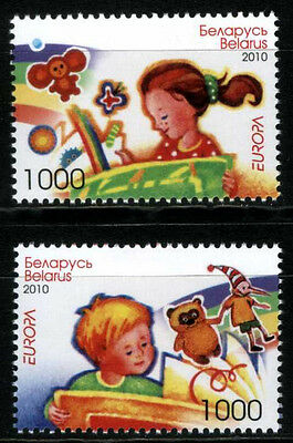 2010. Belarus. Children's Books (EUROPA-CEPT)). Set. MNH